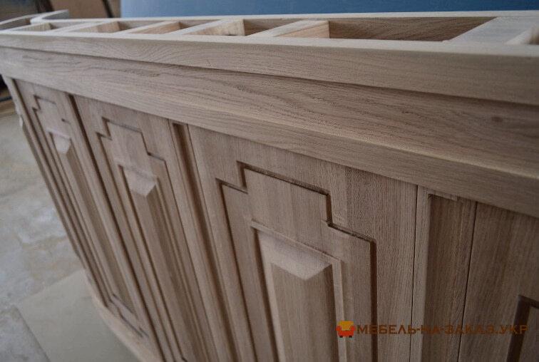 изготовление деревянной стойки из дерева