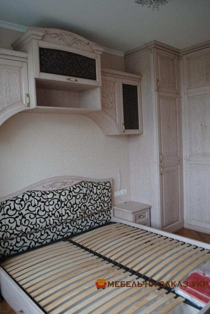 деревянная мебель в спальню под заказ