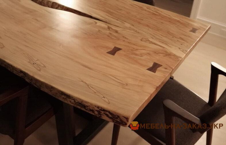 Столы из массива дерева для переговоров под заказ в стиле лофт