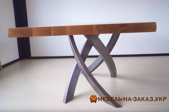 Столы из массива дерева лофт в переговорную