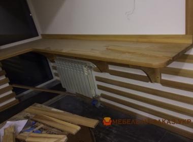 Изготовление деревянных подоконников на заказ