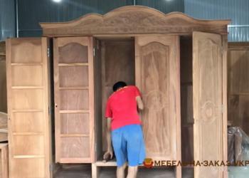 изготовление деревянных шкафов