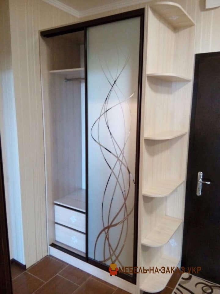 шкаф в коридор с фотопечатью