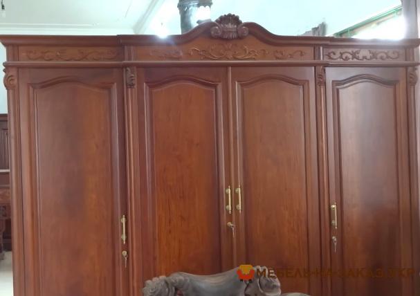 изготовление деревянных шкафов под заказ