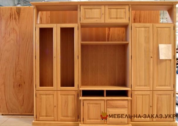 Деревянный шкаф на заказ БУча