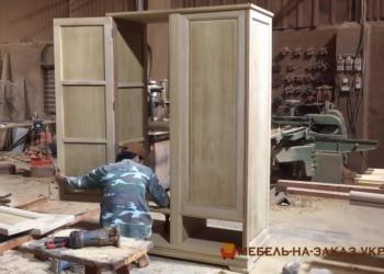 Изготовить шкаф из дерева Борисполь