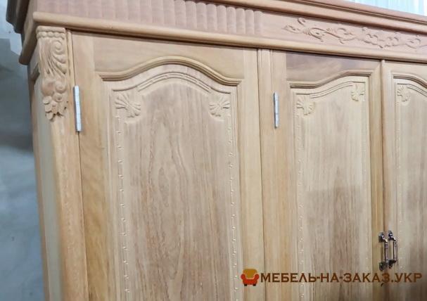 Изготовить шкаф из дерева Ирпень