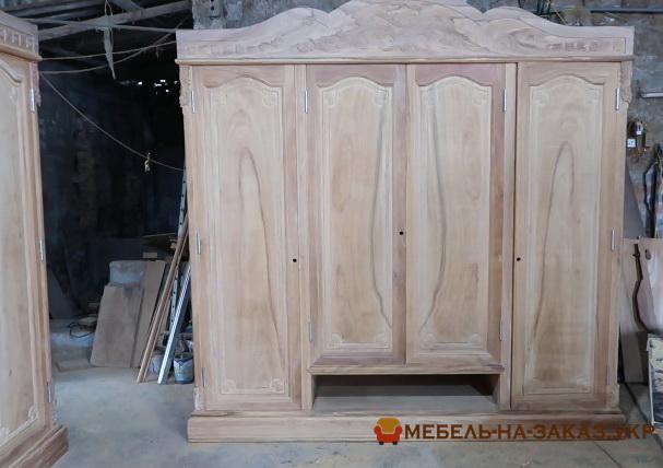 Изготовить шкаф из дерева Новые Петровцы