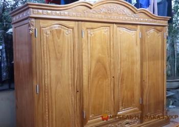 зказать изготовление шкафа из дерева
