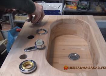 Как сделать раковину из дерева своими руками