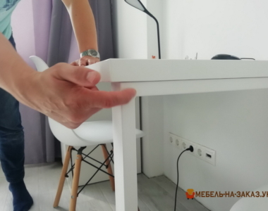 заказной белый рабочий стол