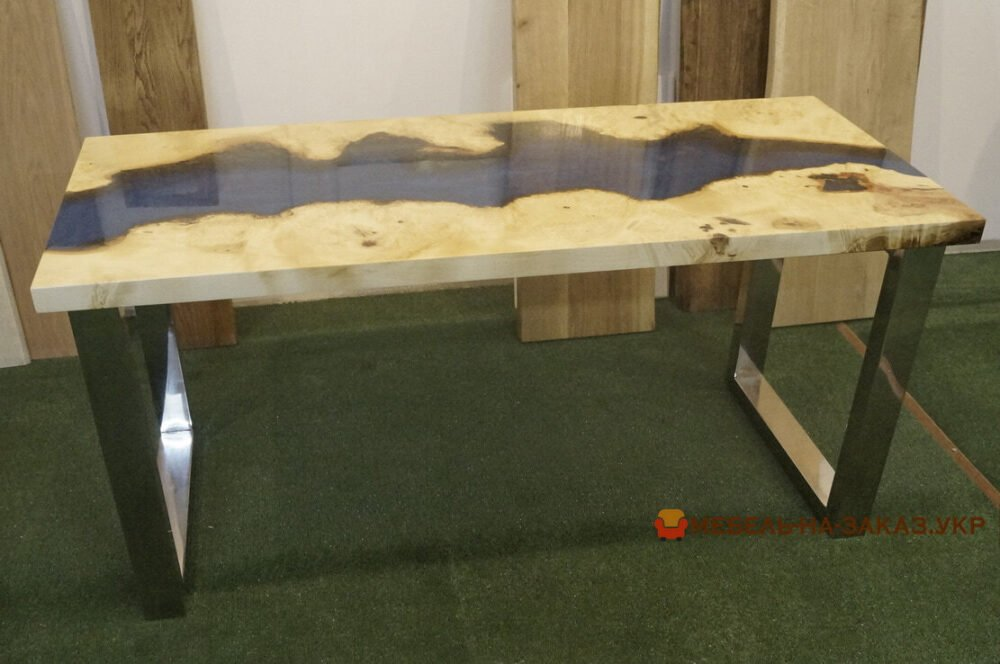 столы река с подсветкой