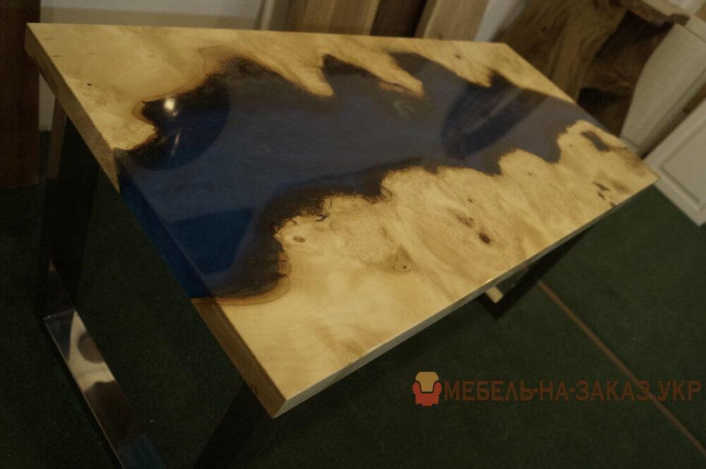 столы река с подсветкой на заказ