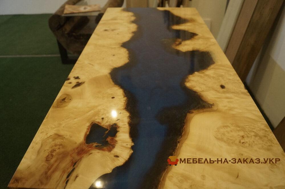 столы река с нержавеющими ножками