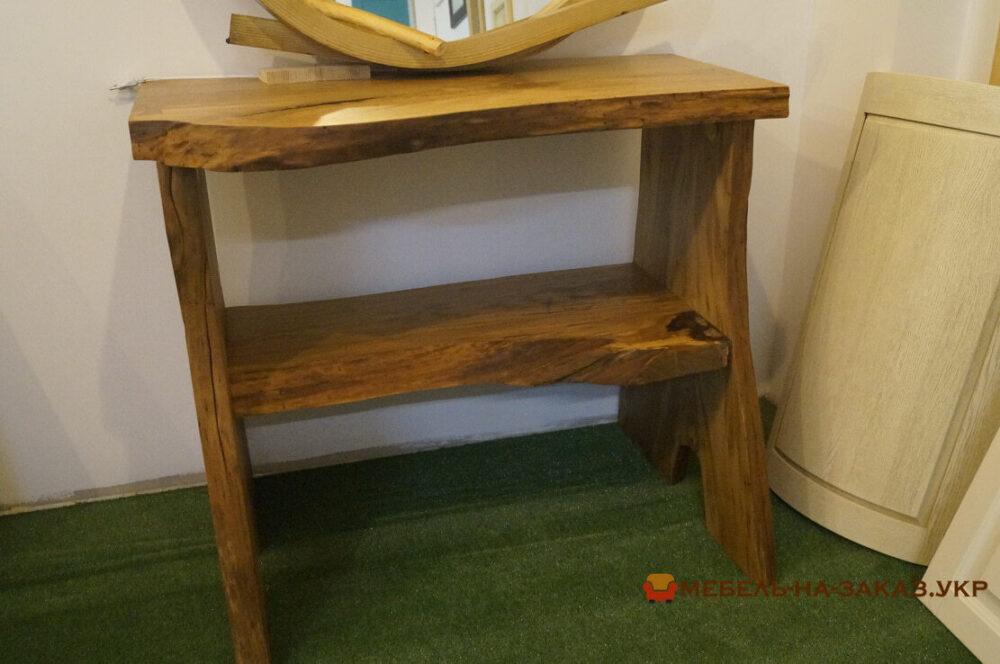 дизайнерский стол из сруба под заказ