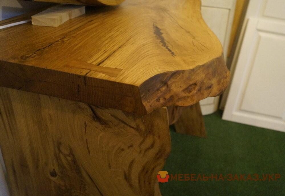 стол из сруба под заказ