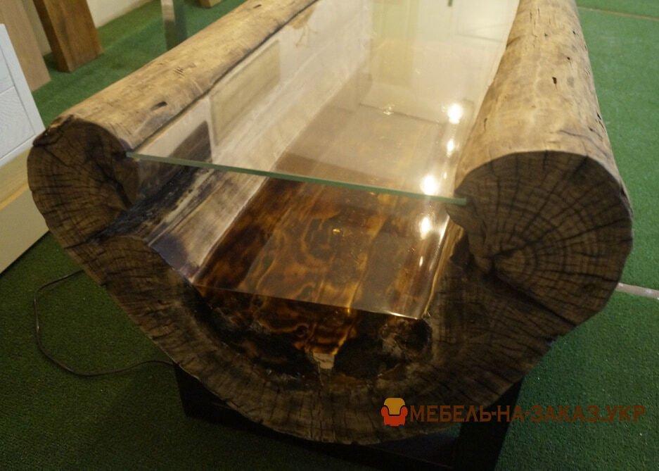 столы река с нержавеющими ножками на заказ Украина