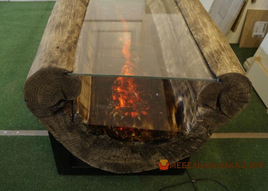 столы река с нержавеющими ножками на заказ