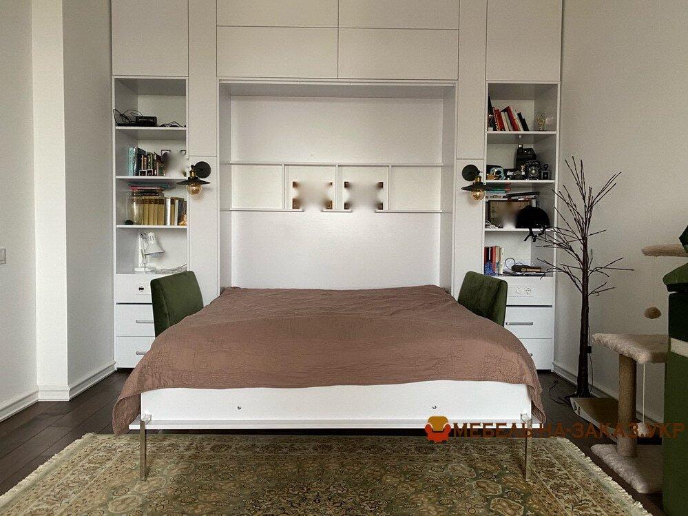 умный шкаф с откидной кроватью