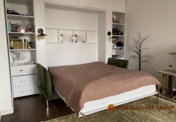 умный шкаф с откидной кроватью под заказ