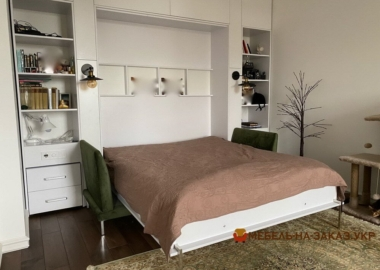 умный шкаф с откидной кроватью на заказ