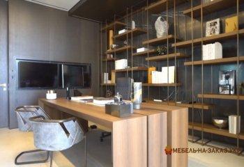 кабинет на заказ в стиле модерн