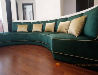 заказать изготовление углового дивана (ЖК Отрада)