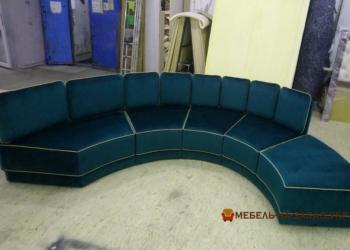 дизайн проект круглого дивана