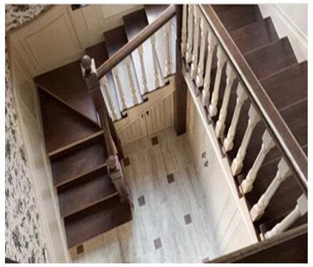 лестница с острыми краями
