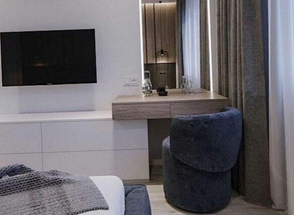 варианты мебели с телевизором на заказ