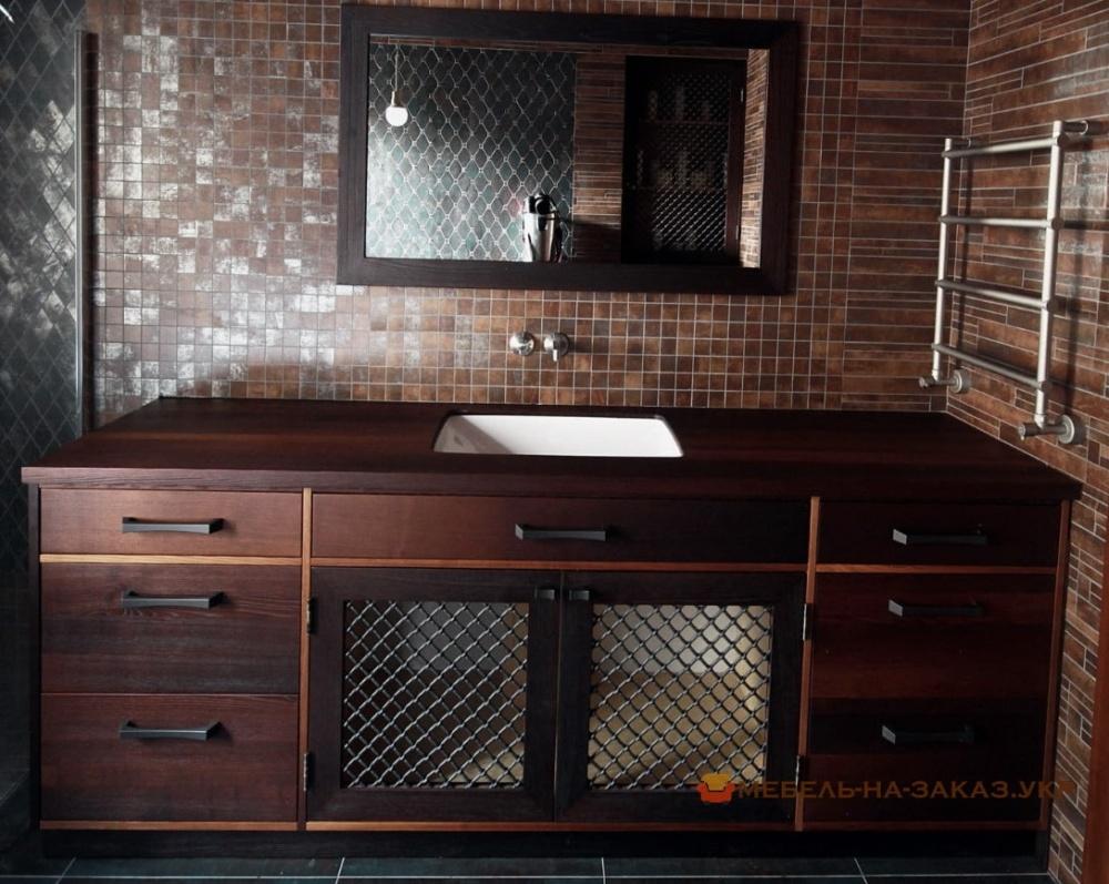 мебел в ванную лофт