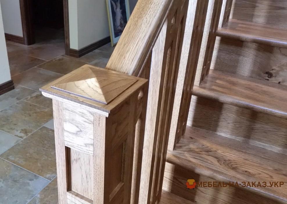 деревянные перила для лестниц