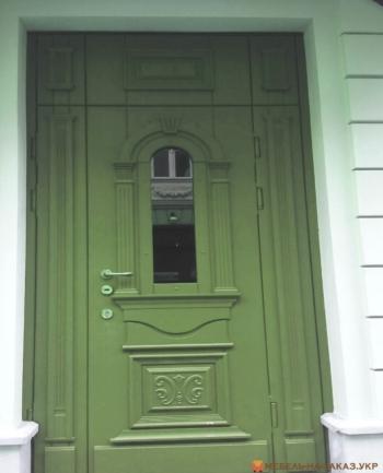 входные двери из дуба на заказ
