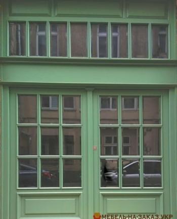 деревянные дверин на заказ в Киеве