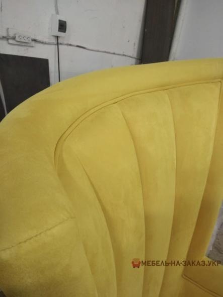 кресло желтое на заказ