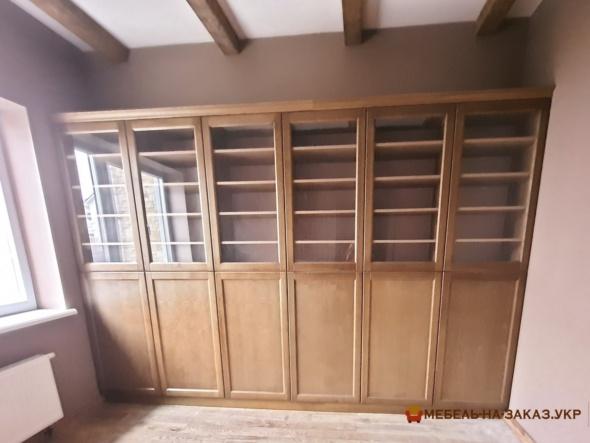библиотечная мебель из массива дуба на заказ