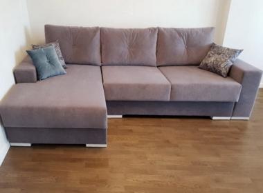 диван угловой модерн для гостиной под заказ