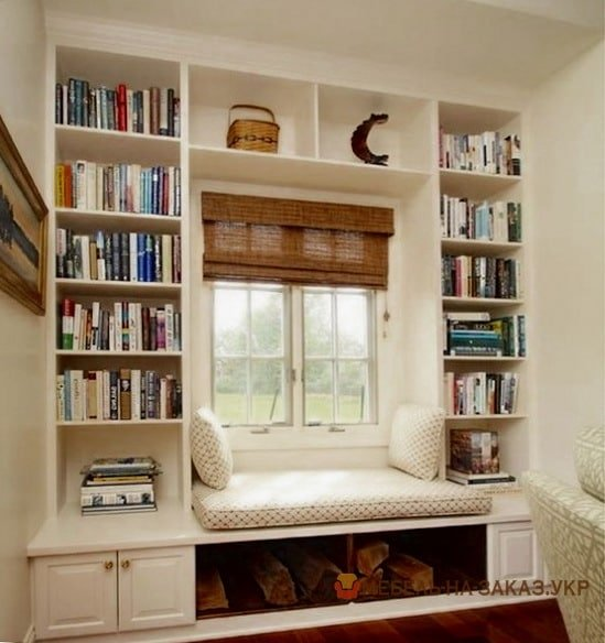 подоконник диван библиотека из дсп