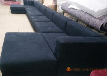 варианты п бразных диванов в госинную