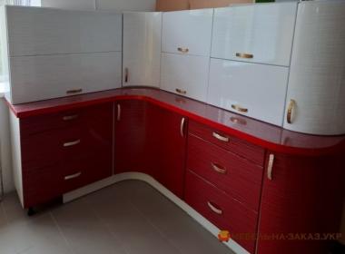 красно белая радиумная кухня