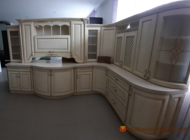 curved kitchen mebel