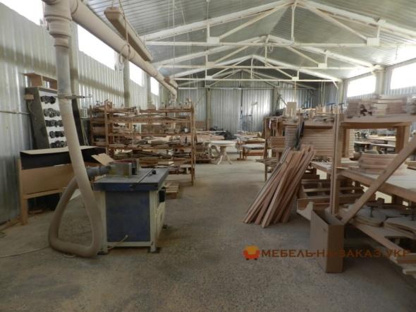 производственный цех по дереву