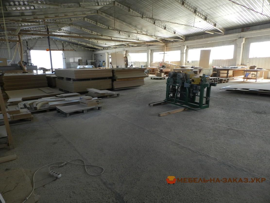 цех по производству деревянной мебели