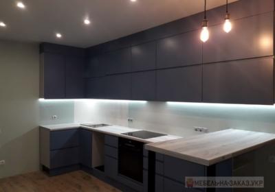 мебель угловая в кухню черная