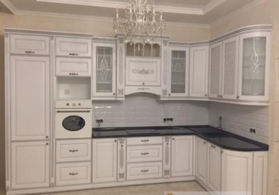 мебель угловая в кухню с каменной столешницей