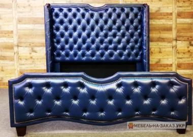 производство кроватей из кожи