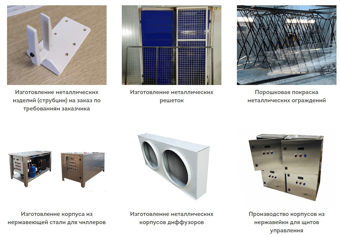 металлические конструкции на заказ