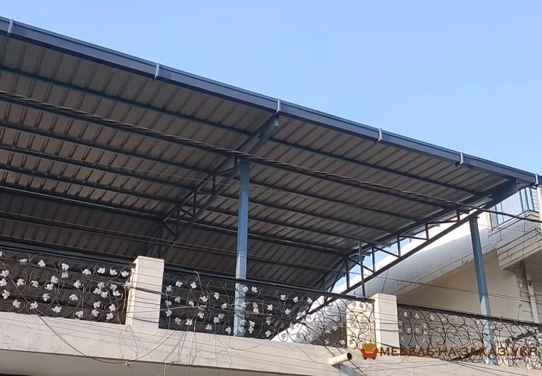 стоимость Металлический каркас крыши в Киеве