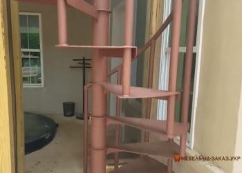 Лестницы для Дома в Киеве из металла Бровары