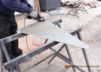 Изготовление металлических лестниц Ирпень